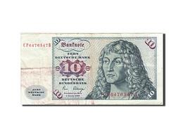 République Fédérale Allemande, 10 Deutsche Mark, 1970-1980, KM:31c, 1980-0... - [ 6] 1949-1990 : RDA - Rep. Dem. Alemana