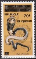 Timbre-poste Neuf** Du Territoire Des Afars Et Des Issas Surchargé - N° 453 (Yvert) - République De Djibouti 1977 - Djibouti (1977-...)