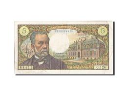 France, 5 Francs, 5 F 1966-1970 ''Pasteur'', 1970, 1970-01-08, KM:146b, TB+,... - 5 F 1966-1970 ''Pasteur''