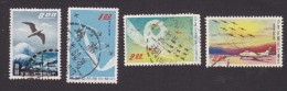 China, Scott #C69-C72, Used, Seagull, Thunder Tiger Aerobatic Team, Issued 1959-60 - 1945-... Republiek China