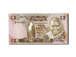 Zambie, 2 Kwacha, Undated (1980-88), KM:24c, Undated, NEUF - Zambie
