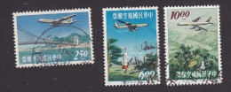 China, Scott #C73-C75, Used, Planes Over Taiwan, Issued 1963 - 1945-... Republiek China
