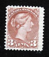 Canada, Scott #41, Mint Hinged, Queen Victoria, Issued 1873 - Unused Stamps