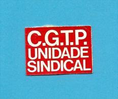CGTP - INTERSINDICAL - UNIDADE SINDICAL - Autocolante Sticker Política - PORTUGAL - Autocollants