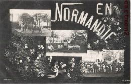 La Normandie Multivues Agriculture Marche Aux Veaux Vachers Cochons Elevage 61 ORNE - Non Classés