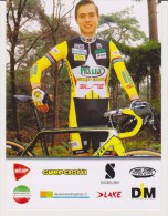 Cycling Card BRYAN BOUWMANS Cyclo-cross Team GUERCIOTTI 2015 / 16  Italy - Ciclismo