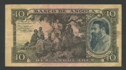 ANGOLA - 10 Angolares  1946  P78  Fine  ( Banknotes ) - Angola