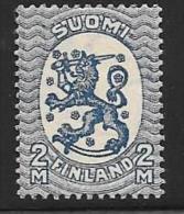 Finland, Scott # 136 Mint HingedLion Arms, 1927 - Ungebraucht