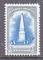 ARGENTINA  160   *  1910 Issue - Argentina
