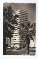 CPSM MAROC - CASABLANCA - Immeuble Liberté - TB PLAN EDIFICE + Hôtel Trocadero à Droite + AUTOMOBILES - Casablanca
