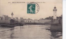 BELLE ILE En MER -  LE PALAIS - L'Entrée Du Port   (GTd-c439) - Belle Ile En Mer