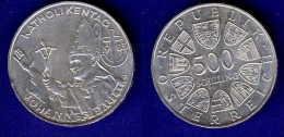 500 Schilling Silber Ag 1983 Katholikentag - Oesterreich