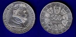 500 Schilling Silber Ag 1985  Uni Graz #2 - Austria