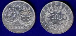 500 Schilling Silber Ag 1985  Bregenz - Austria