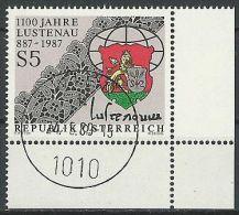 ÖSTERREICH 1987 MI-NR. 1885 ECKRAND O Used - Aus ABO (84) - 1981-90 Gebraucht