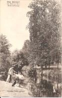 QUIMPER (29) Les Bords Du Steir - Etude De Paysage (Pêcheur) - Quimper