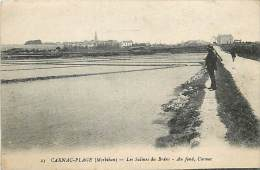 A16-1532  : CARNAC  PLAGE  LES SALINES MARAIS SALANTS - Carnac
