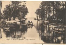 Canal De LACANAU à CARCANS Le Pont Du Montaut   138 - Ohne Zuordnung