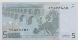 NETHERLANDS   5 Euro Trichet E009 F5 UNC - 5 Euro