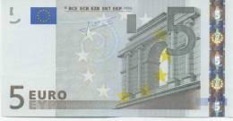 NETHERLANDS   5 Euro Trichet E006 H5 UNC - 5 Euro