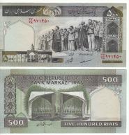 IRAN  500  Rials      P137Ad    UNC - Iran