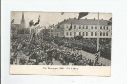 (TRONDJHEM NORGE) FRA KRONINGEN 1906 FRA KIRKEN - Norvège
