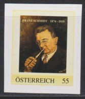 MB 3290) Österreich Austria PM **: Franz SCHMIDT, Komponist, (mit Zigarre, Raucher, Rauchen, Tabak) - Music