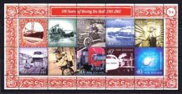 New Zealand 2001 100 Years Of Moving The Mail Minisheet MNH - New Zealand
