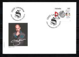 """SUISSE 2011 Andres Andrekson """"Stress"""" FDC Neuf ** - FDC"""