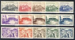 Fezzan 1946 Serie N. 28 - 42 Territoire Militaire **MNH Catalogo € 20 - Fezzan (1943-1951)