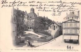 """- 208 - GUERET  -  Hôtel Des Tournyol Ou Tournoël Dit Chateau Des Comtes De La Marche - Mercerie """" Chantoiseau"""" - Guéret"""