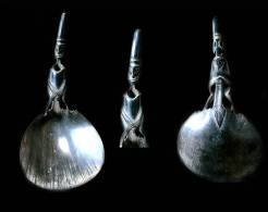 Cuillère De Mariage Sasak Lombok / Horn Wedding Sasak Spoon From Lombok - Cucchiai