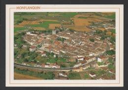 DF / 47 LOT ET GARONNE / MONFLANQUIN / VUE GENERALE AÉRIENNE - Monflanquin