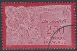 Specimen, France Sc2205 Lace Work, Dentelle - Textiel