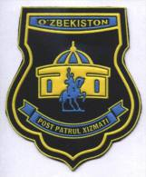 Ecusson / Patch / Toppa / Parche. Uzbekistan. Asia. Ex USSR.  . Patrol.   Issue Before 2006 - Police