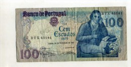 - PORTUGAL . BILLET 100 ESC. 1981 . - Portugal