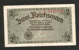 DEUTSCHLAND / GERMANY - 2 REICHSMARK (1940 -  1945) - WWII - Altri