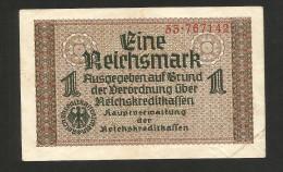DEUTSCHLAND / GERMANY - DEUTSCHES REICH - 1 REICHSMARK (1940 -  1945) - WWII - Altri
