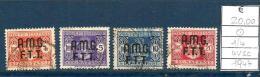 1947 TRIESTE A     Segnatasse Serie Completa   Usato - Gebraucht