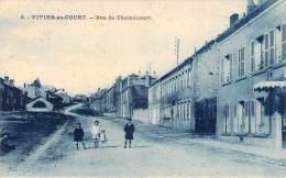08 - Vivier-au-Court - Rue De Thumécourt - Frankrijk