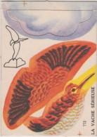 Chromo - Image à Construire - La Vache Sérieuse - Oiseau - N° 772 - Trade Cards