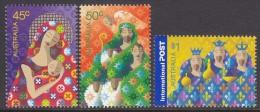 AUSTRALIA, 2004 XMAS 3 MNH - 2000-09 Elizabeth II