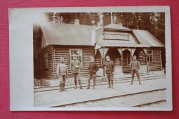 CERMAKKUT (?) BAHNHOF K.U.K. Gruppe Militaren Osterreich ?/ Erste Weltkrieg Prima Guerra Mondiale / Stazione Ferroviaria - Guerra 1914-18