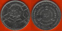 """Burundi 50 Francs 2011 Km#22 """"Drum"""" UNC - Burundi"""