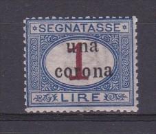 1919 - TRENTO E TRIESTE - SEGNATASSE - G.I. - Cat. Sassone N. 7 (212) - 8. Occupazione 1a Guerra