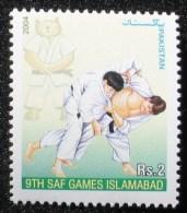 2004 PAKISTAN  Bär Bear ** MNH Les Arts Martiaux, Judo Martial Arts Judo Kampfsport  Judo  Artes Marciales Judo [AJ108] - Judo