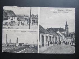 AK SCHATTAU SATOV  B. Znaim 1902 Bahnhof  /// Mk2127 - Tchéquie
