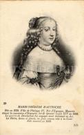 Postcard / CP / Postkaart / Ed. Lévy Et Neurdein Réunis / Paris / Marie-Thérèse D'Autriche (1638-1683) / Reine De France - Personnages Historiques