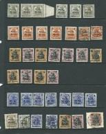 VIII.1919. Germania Stamps  38. POZNAN ISSUE WITH OVERPRINT. Varieties Seen. - ....-1919 Übergangsregierung