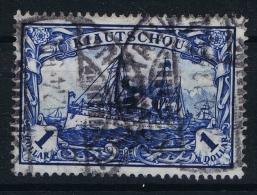 Deutsche Reich: Kiautschou  Mi Nr 35 I A   Used, Fotoattest  Jäschke BPP Friedensdruck 26 : 17 - Kolonie: Kiautschou